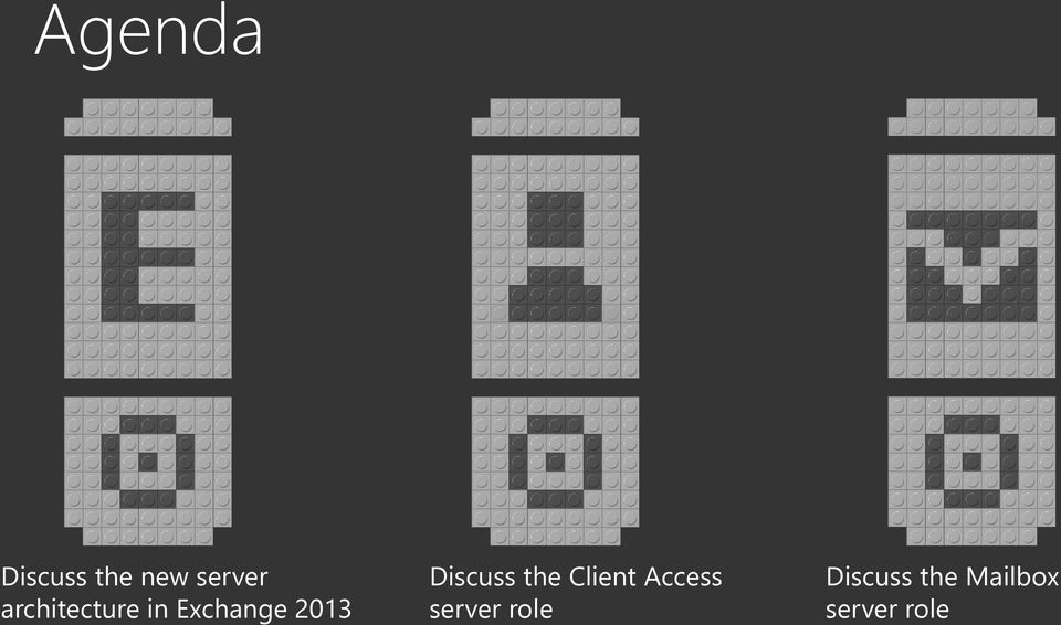 2013 Discuss the Client Access