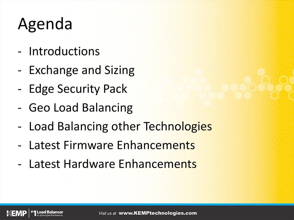 Load Balancing other Technologies - Latest