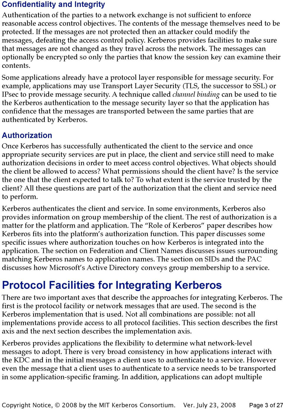 term paper on kerberos