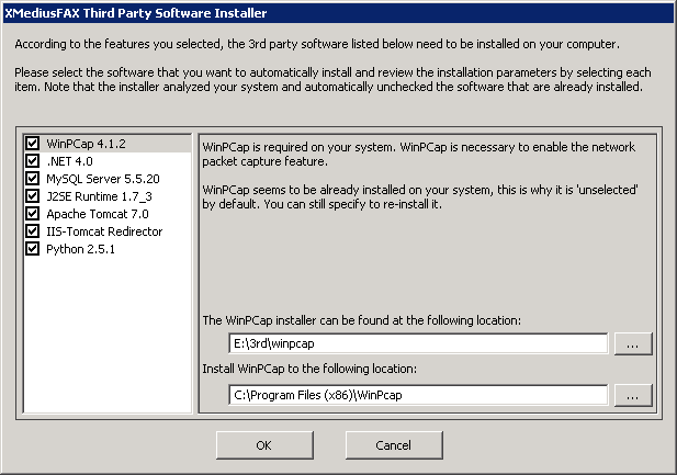 Chapter 3 Server Applications: Installation a) Click Install.