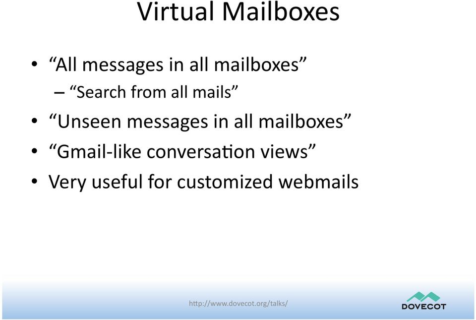 messages in all mailboxes Gmail- like