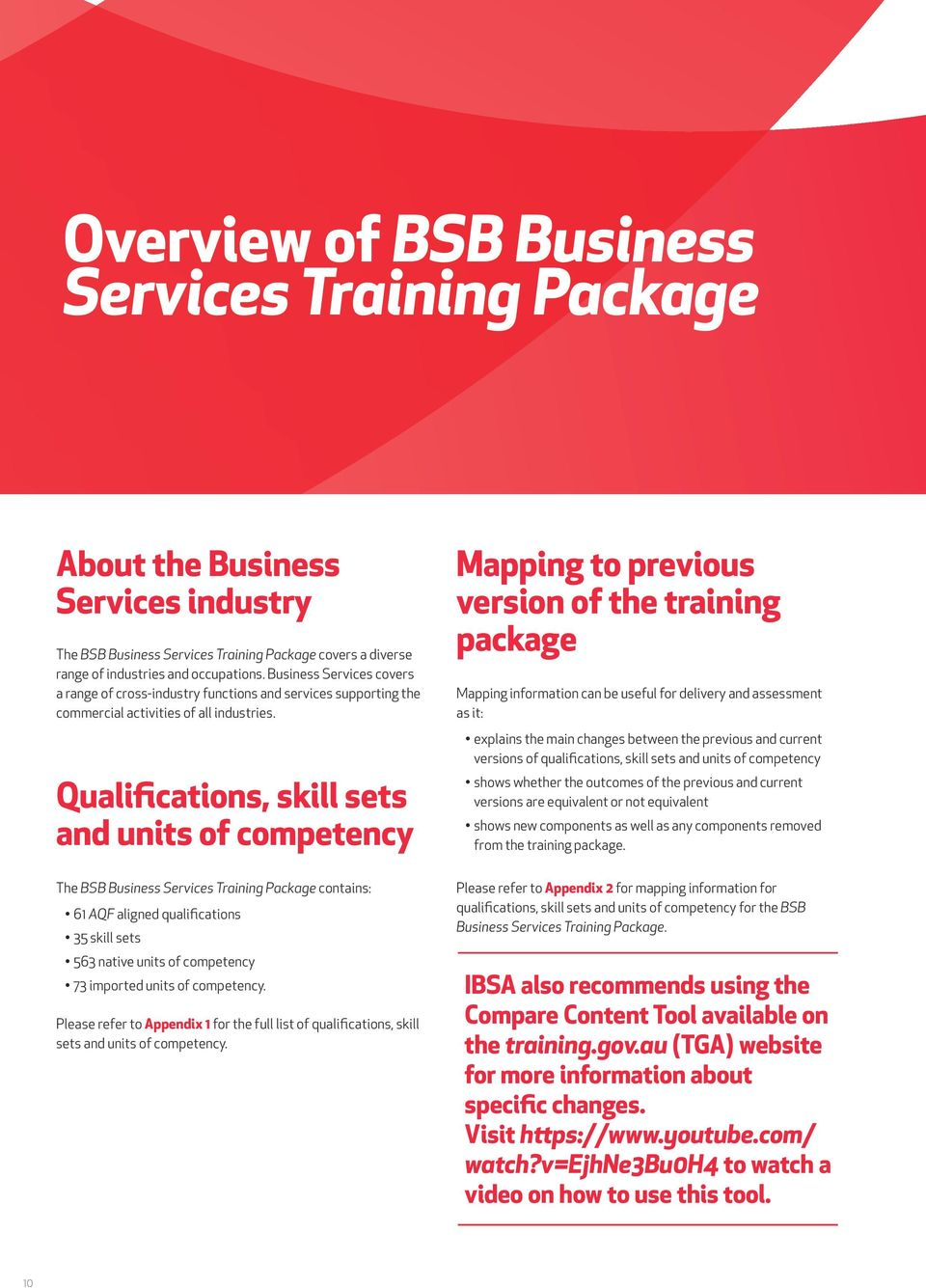 bsb business services training package implementation guide pdf qualifications skill sets and units of competency mapping to previous version of the training package