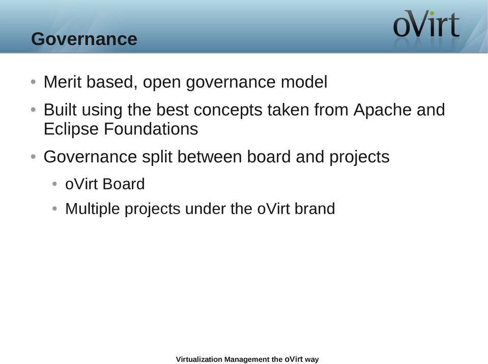 Foundations Governance split between board and