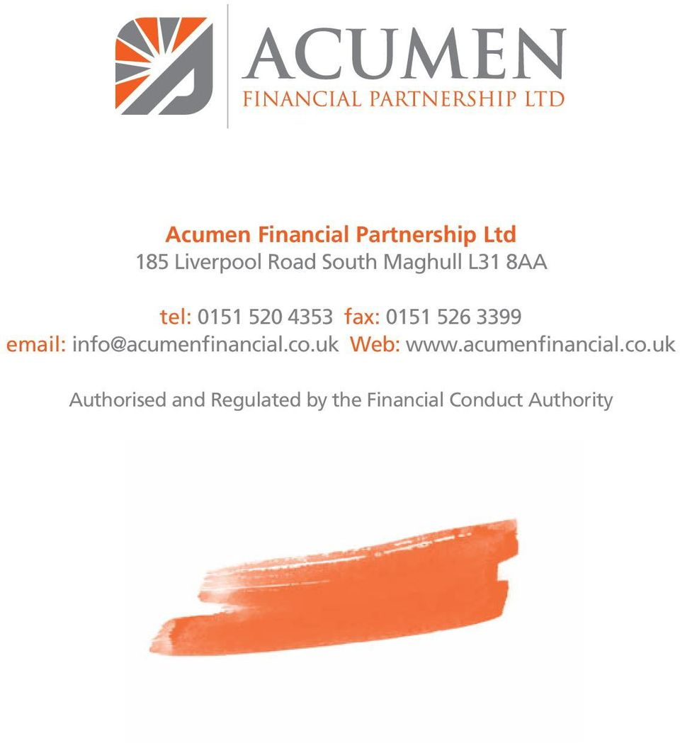 email: info@acumenfinancial.co.