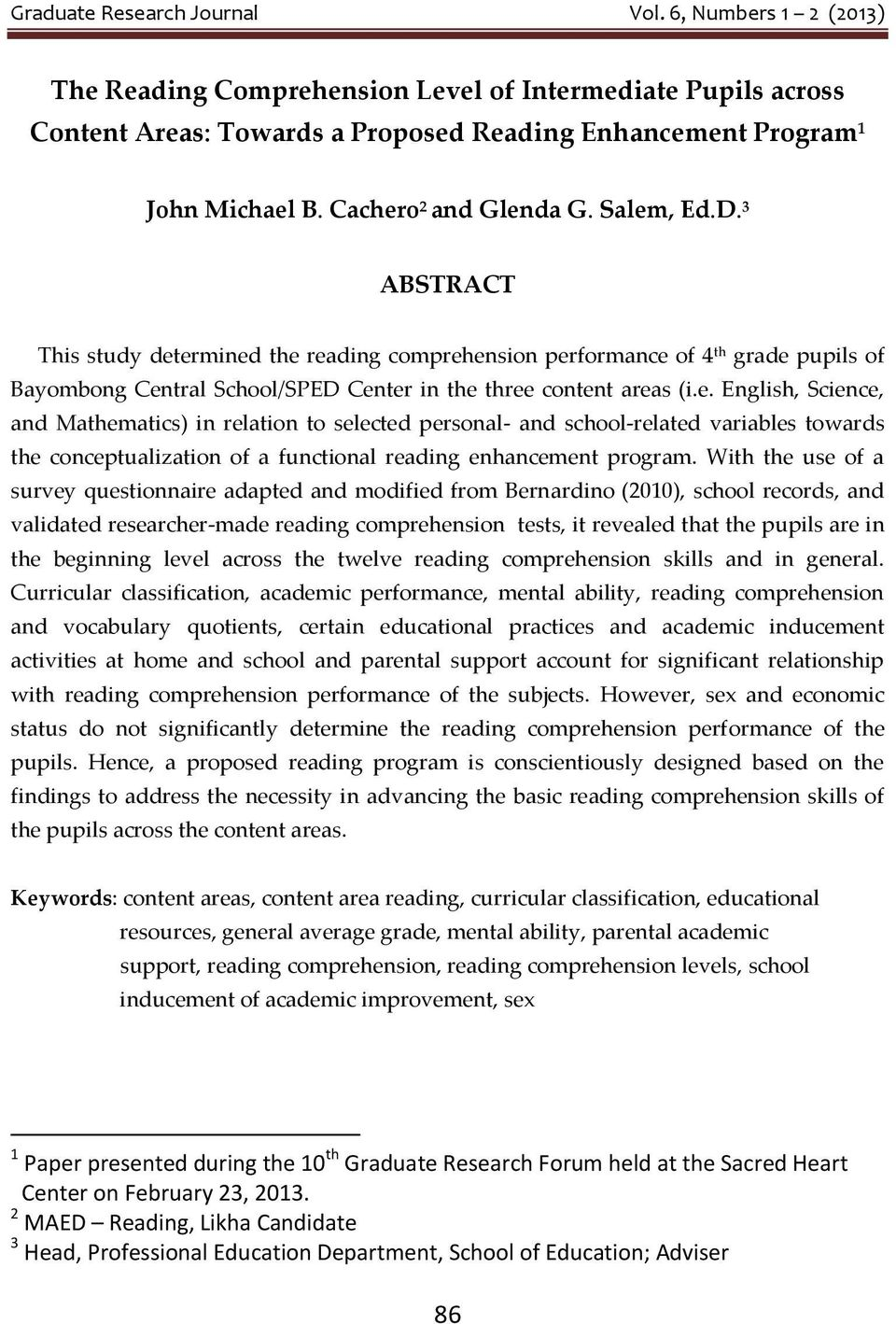 dissertation reading comprehension Abstract title of dissertation: reading comprehension component processes in early adolescence jennifer grace cromley, doctor of philosophy, 2005.