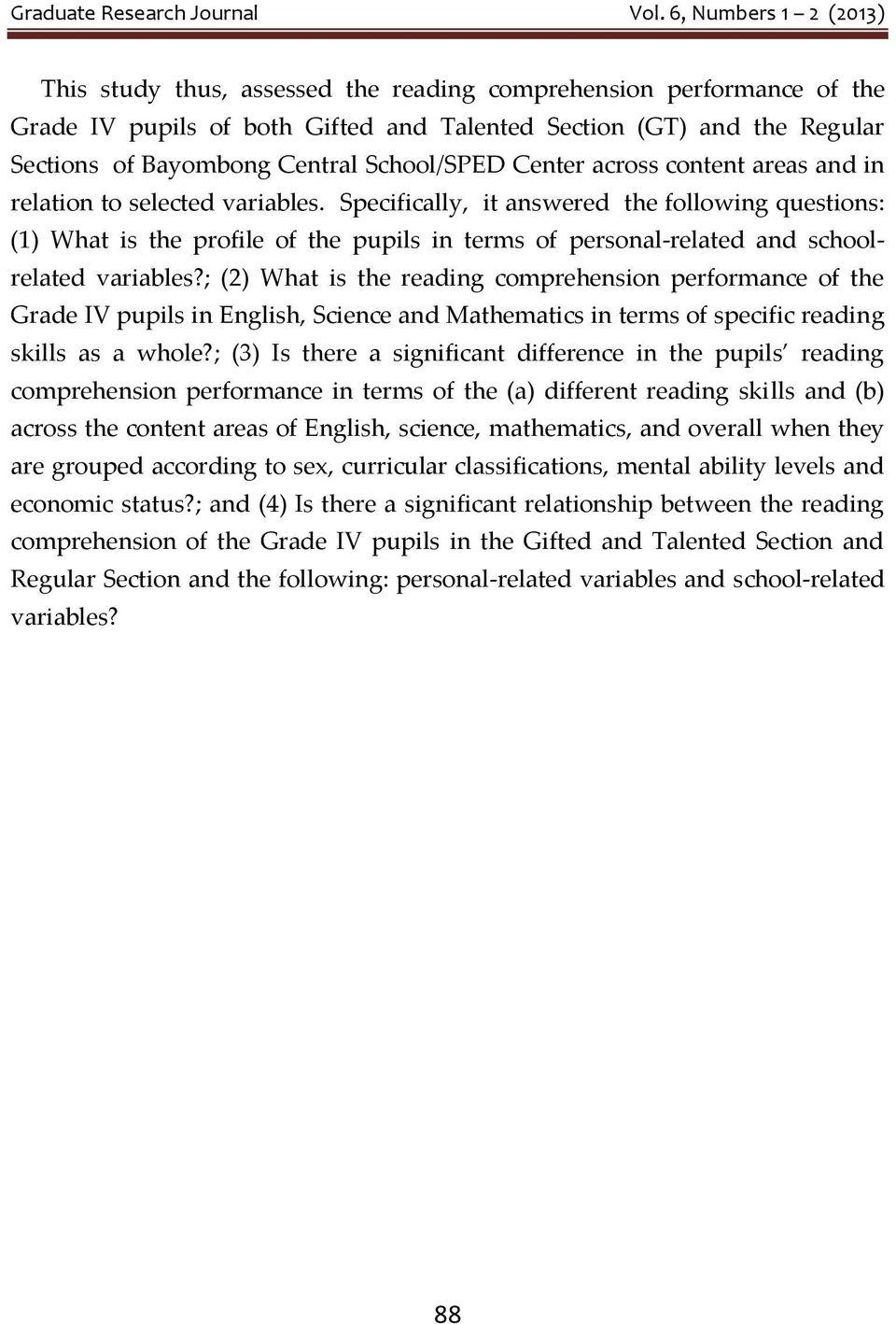 Phd thesis on reading comprehension