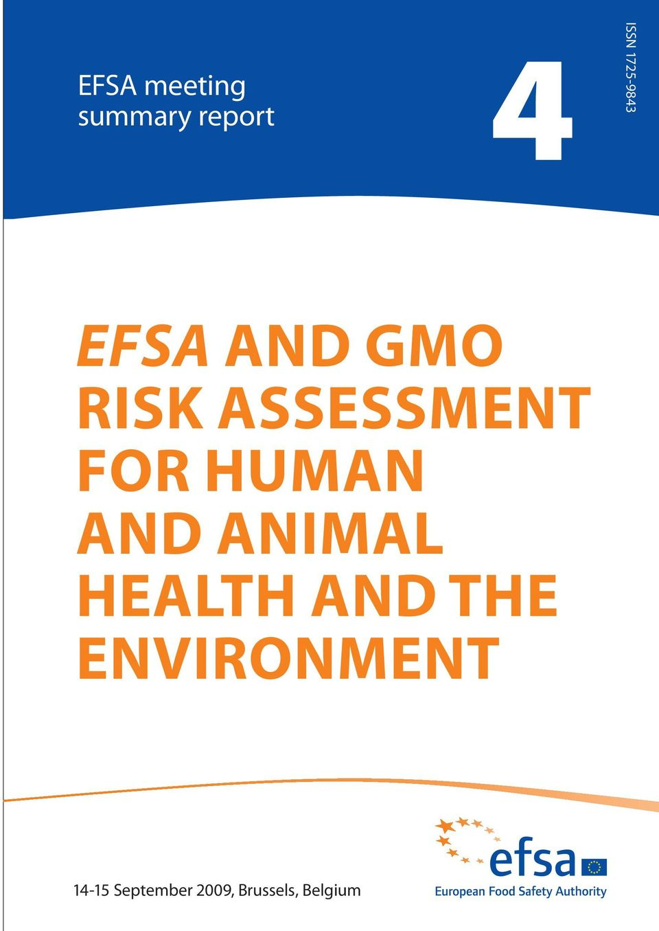 FOR HUMAN AND ANIMAL HEALTH AND THE