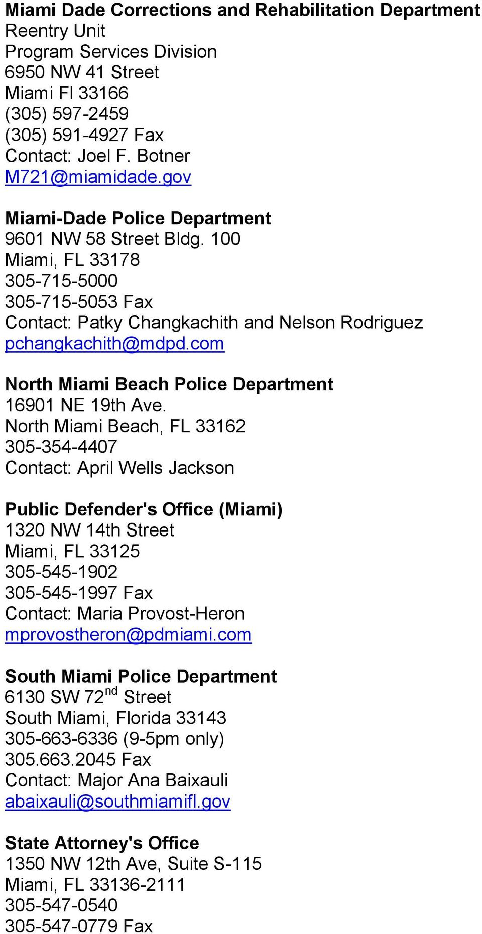 com North Miami Beach Police Department 16901 NE 19th Ave.