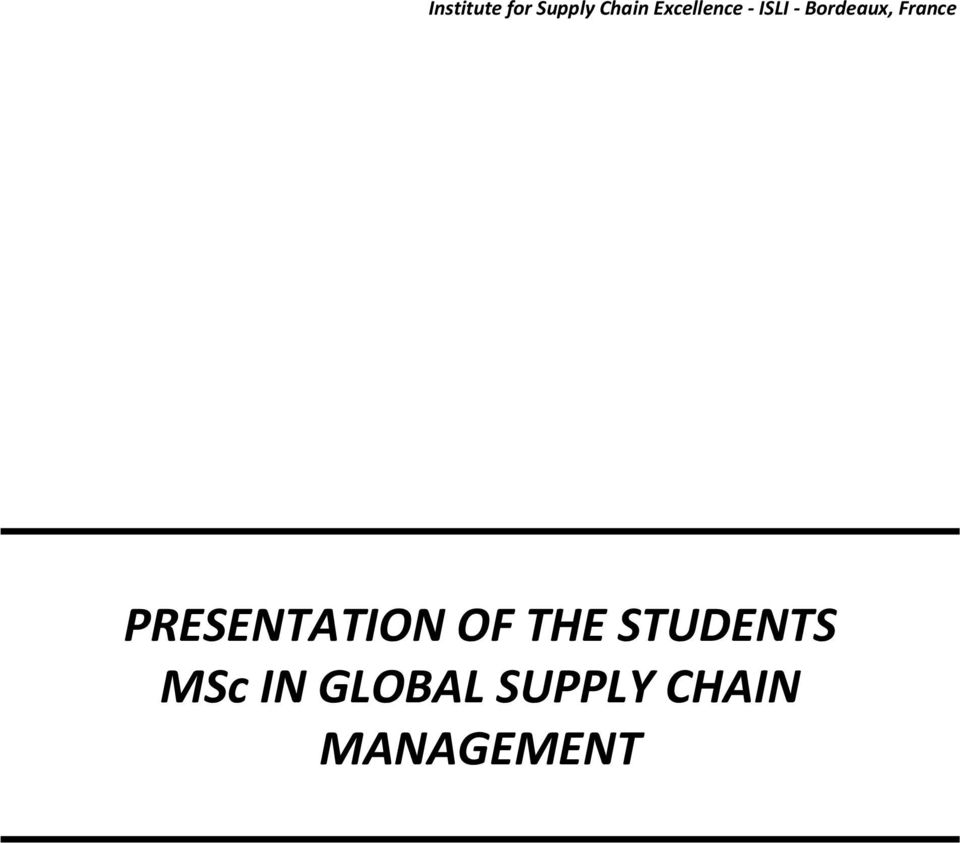 handbook of global supply chain management pdf