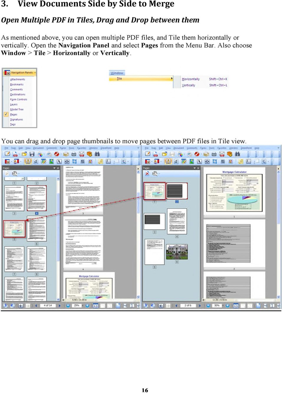open a pages document in pdf