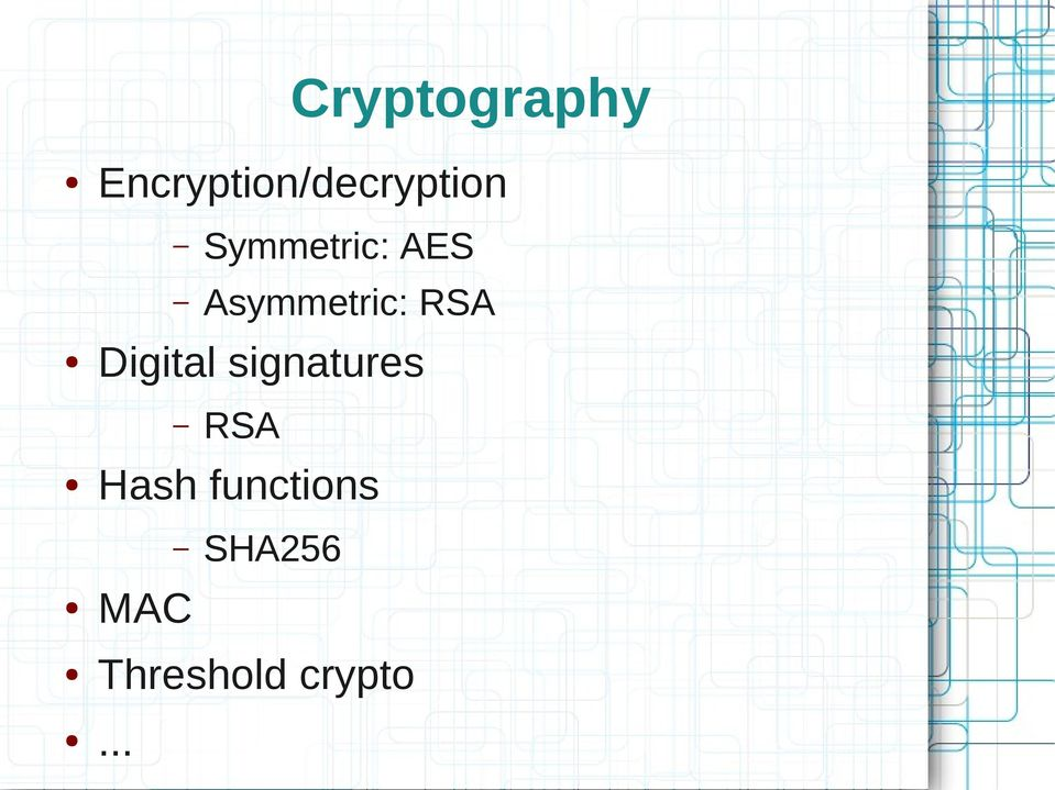 asymmetric and symmetric encryption Learn more about differences between symmetric key encryption and asymmetric key encryption both types of cryptography.