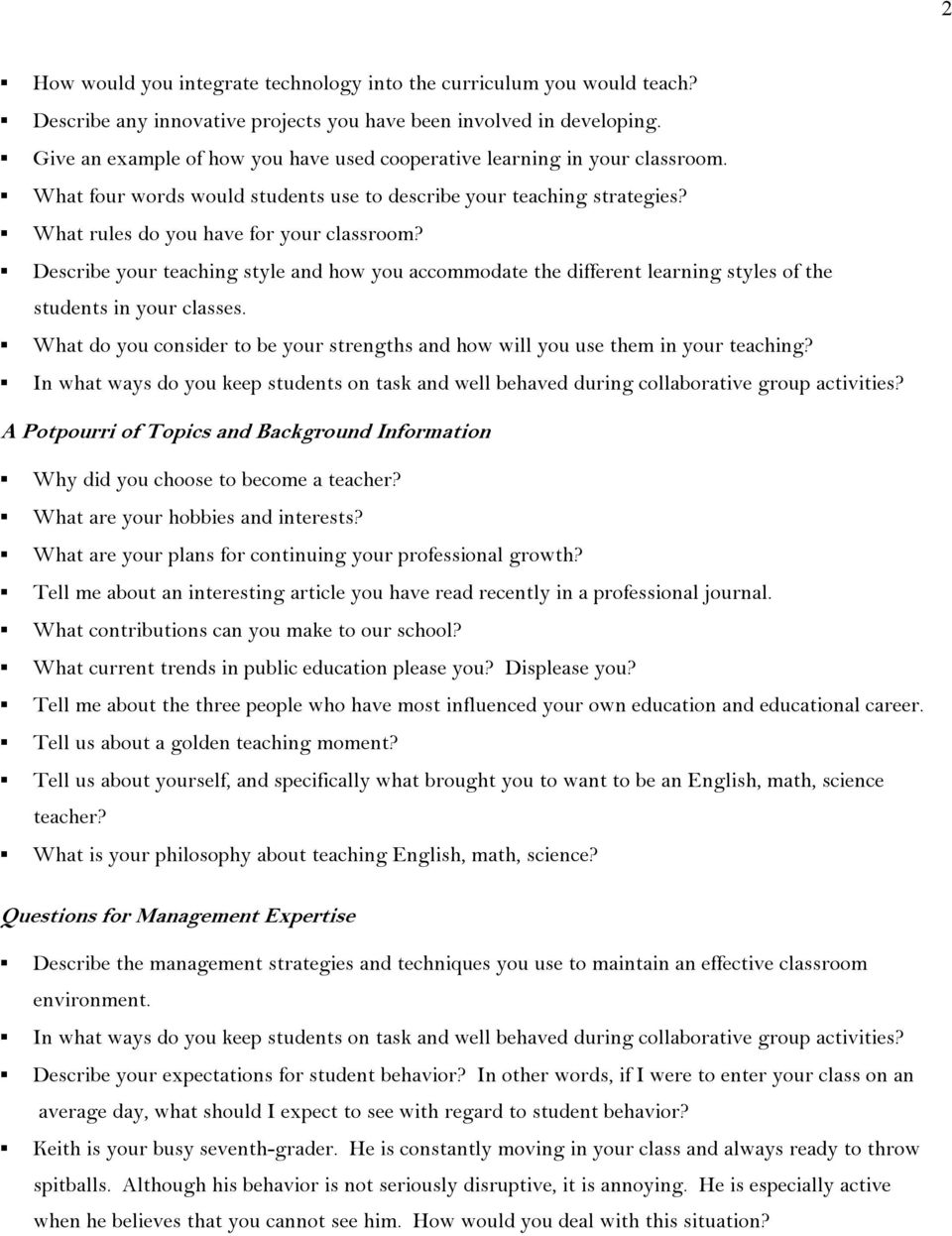 top interview and behavioural interview questions and best sample teacher interview questions pdf sample interview questions