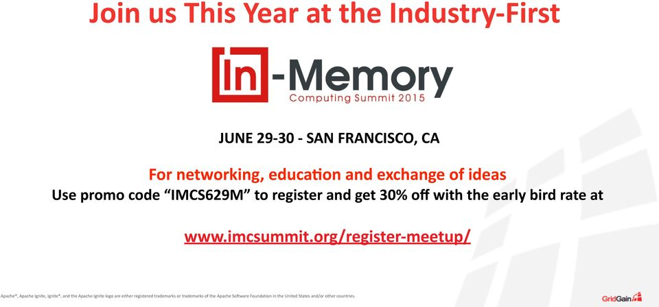 ideas Use promo code IMCS629M to register and get 30% off