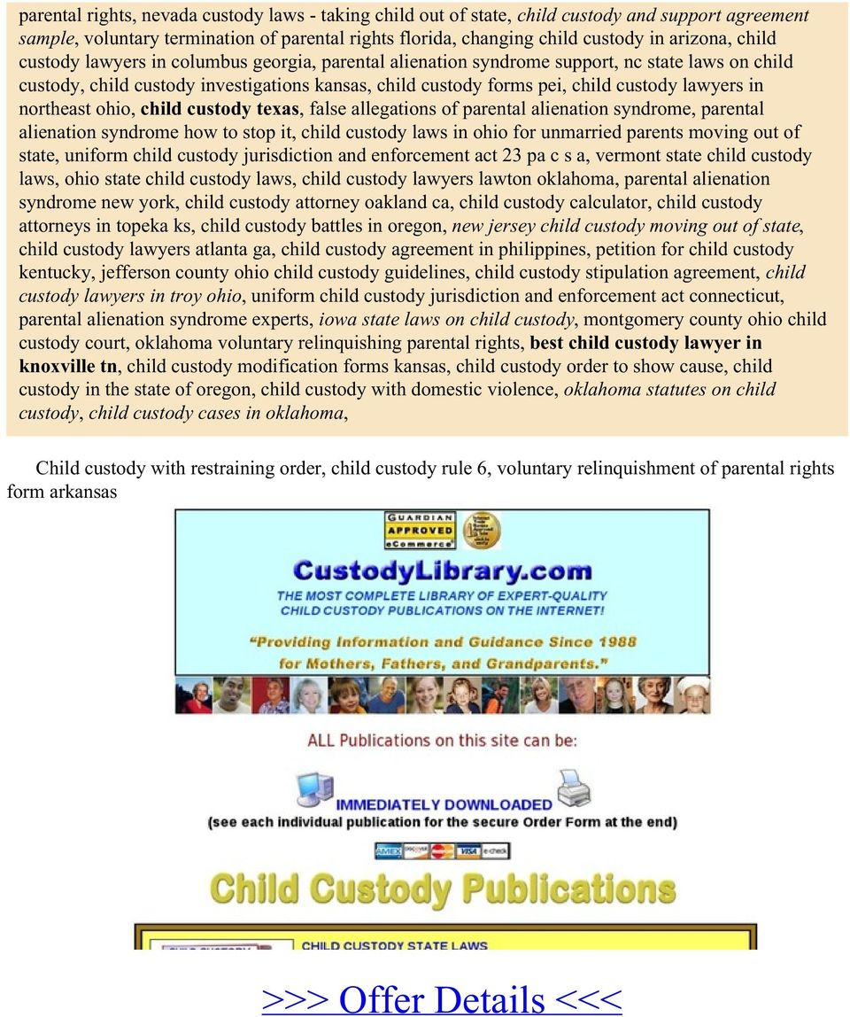 northeast ohio, child custody texas, false allegations of parental alienation syndrome, parental alienation syndrome how to stop it, child custody laws in ohio for unmarried parents moving out of