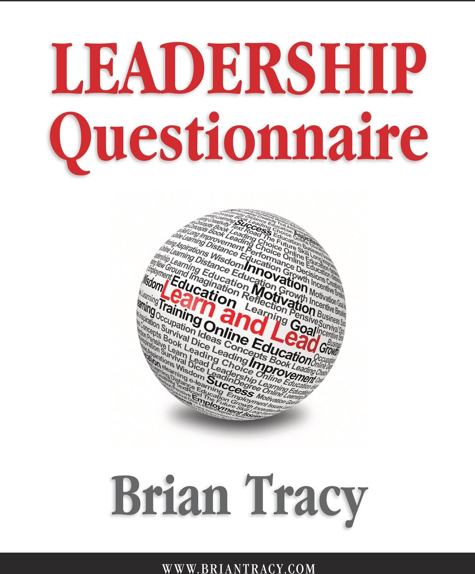 LEADERSHIP Questionnaire
