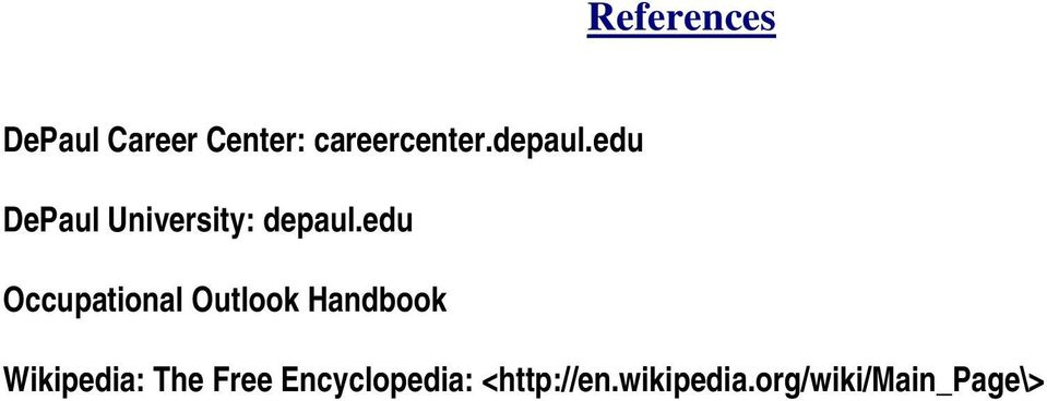 edu Occupational Outlook Handbook Wikipedia: