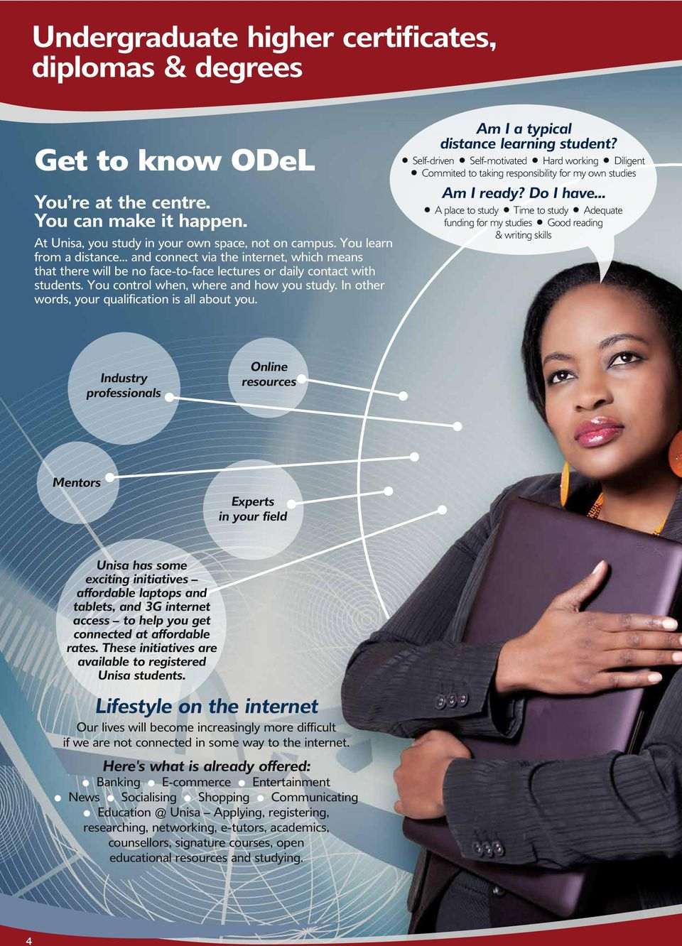 In other wds, your qualification is all about you. Am I a typical distance learning student?