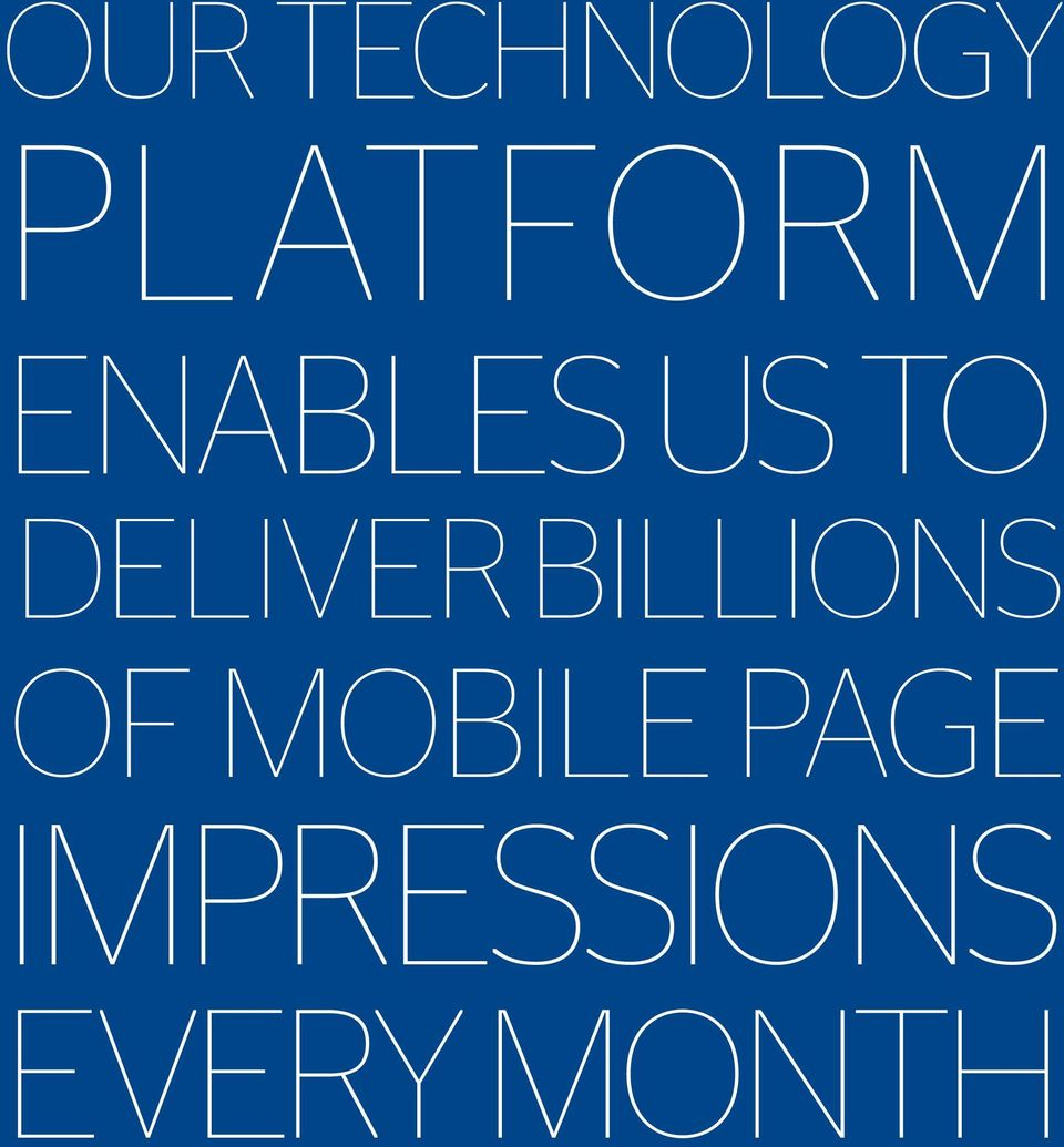 billions of mobile page