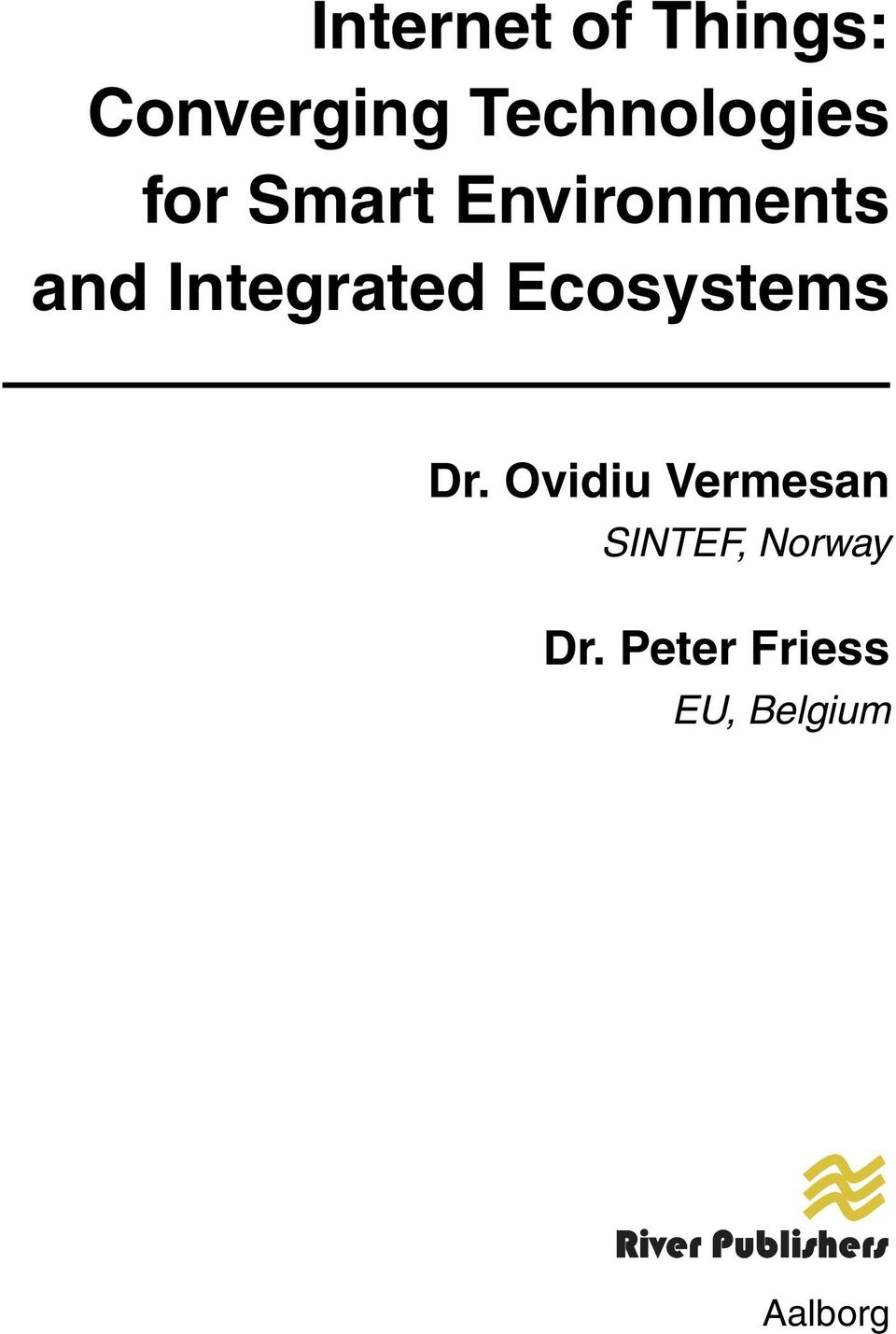 Integrated Ecosystems Dr.