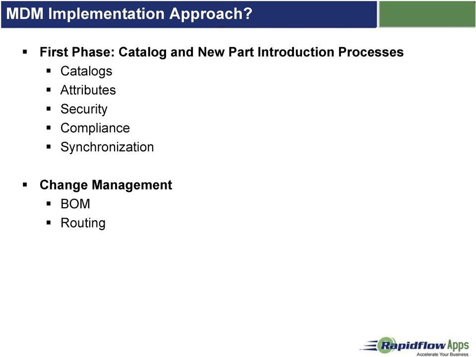 Introduction Processes Catalogs Attributes