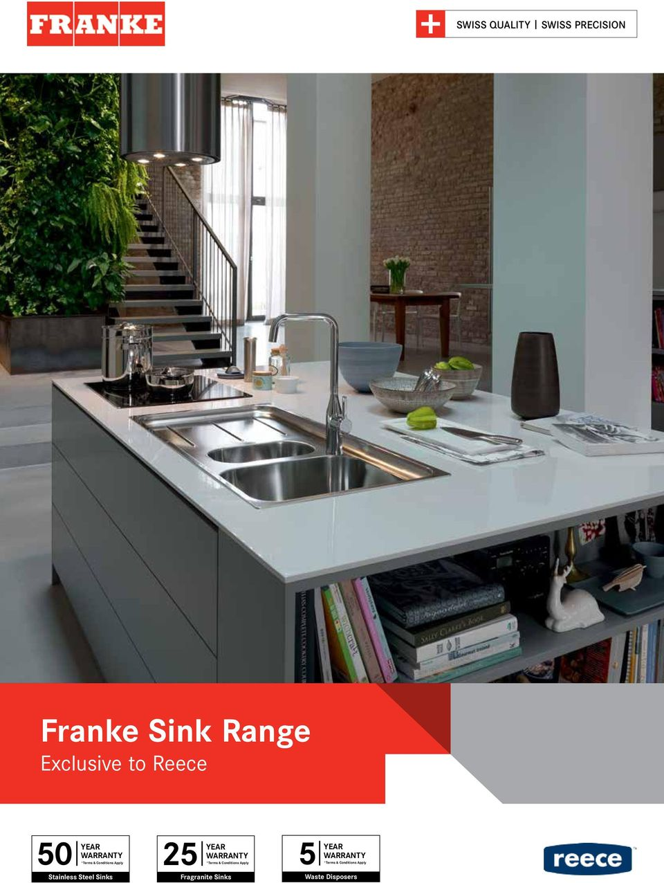 Reece Kitchen Sinks Franke sink range exclusive to reece swiss quality swiss precision stainless steel sinks 25 terms year warranty conditions workwithnaturefo