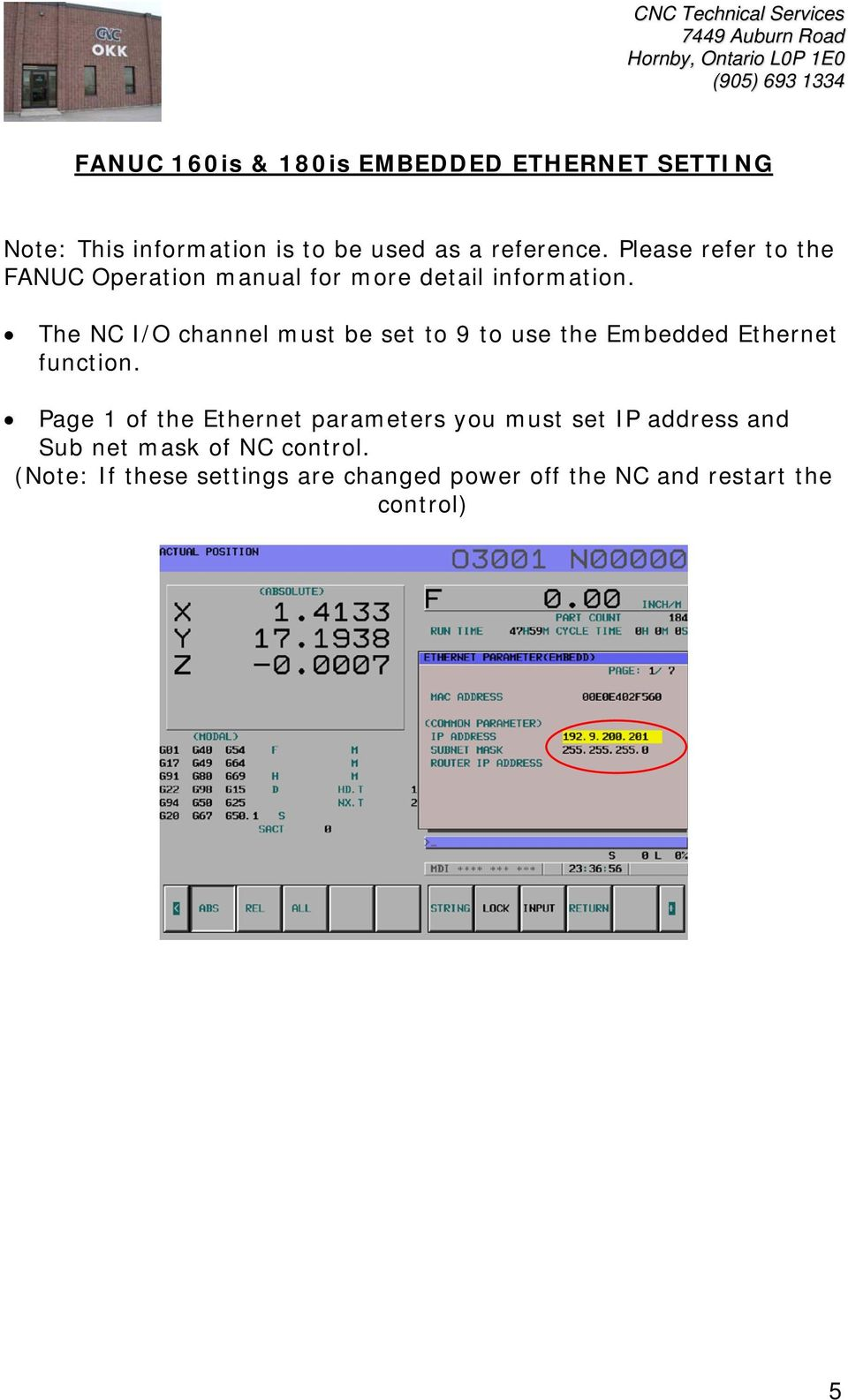 ftp server software for ethernet connection on fanuc 160is