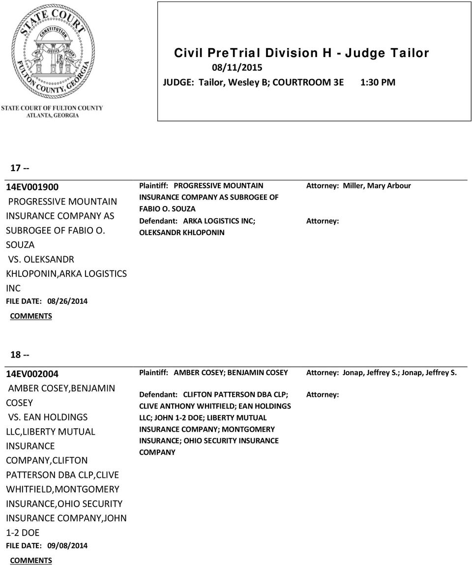 Civil Pretrial Division H  Judge Tailor  Pdf. Internet Companies In Georgia. Vet Tech Schools In San Diego. Airline Credit Card Promotion. Eating Disorder Residential Treatment. Progressive Car Insurance Rates. Ignition Interlock Vancouver Wa. Capital Of Prince Edward Island. Welding Schools In Denver Income From Annuity