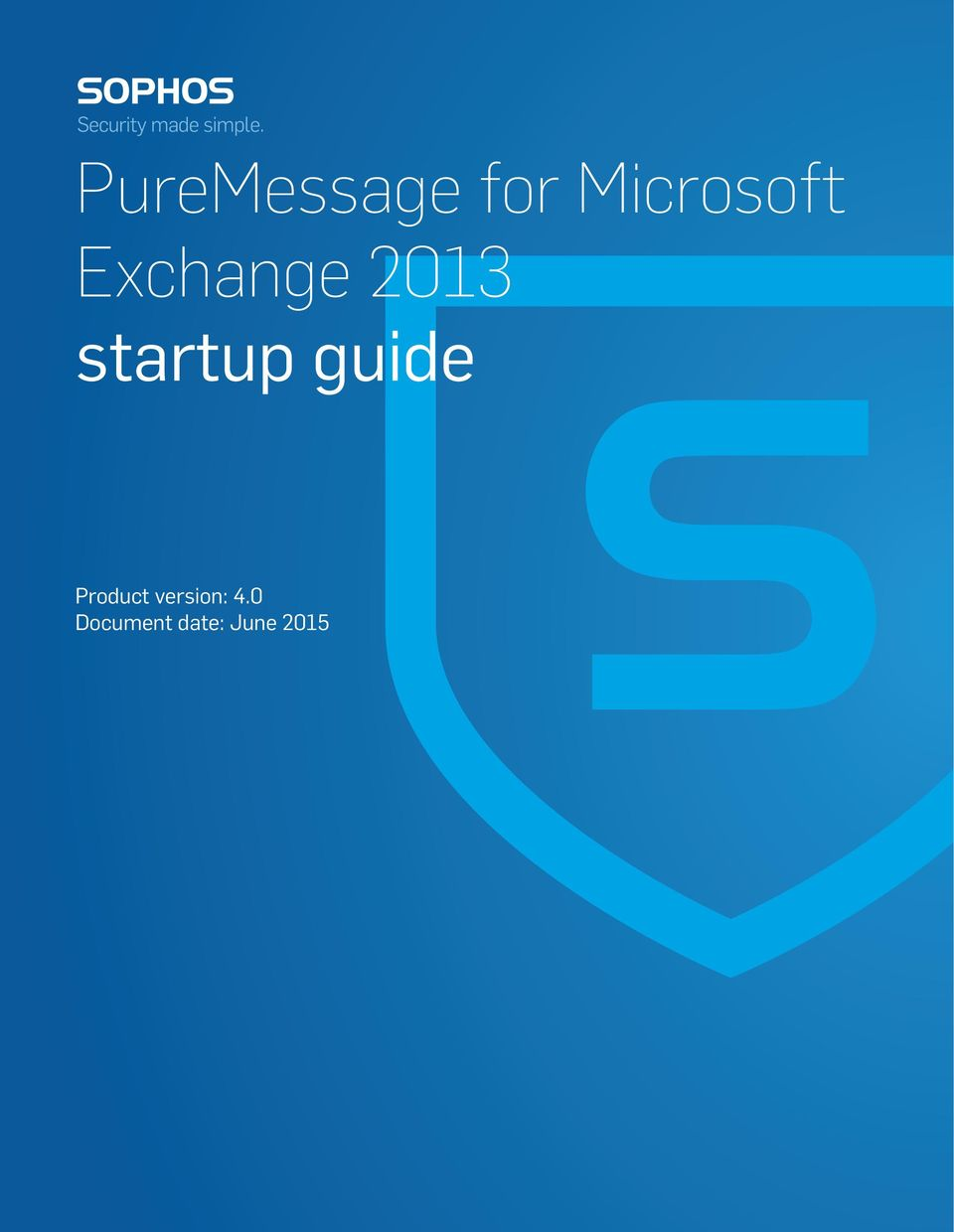 startup guide Product