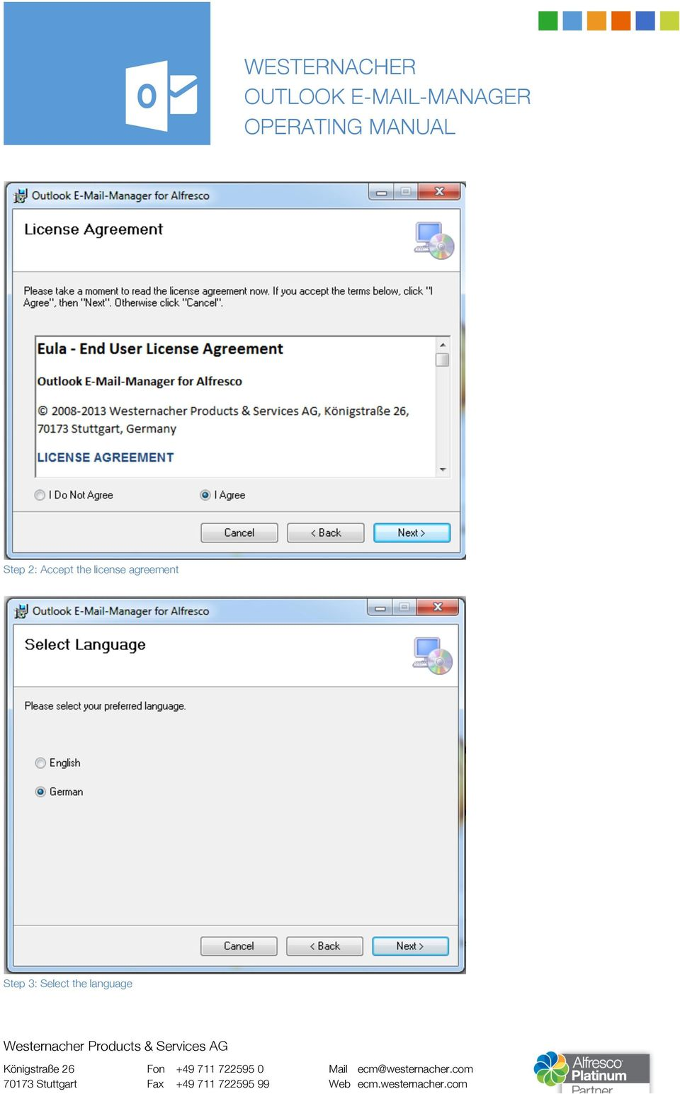 agreement Step