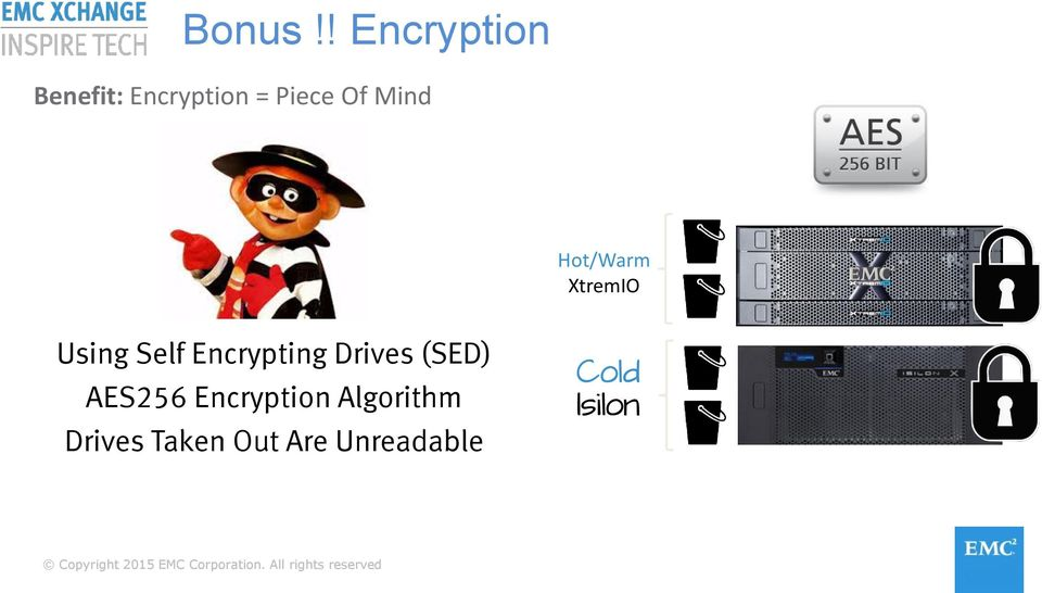 Mind Hot/Warm XtremIO Using Self Encrypting