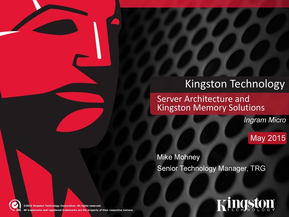 Kingston Technology Corporation. All rights reserved.
