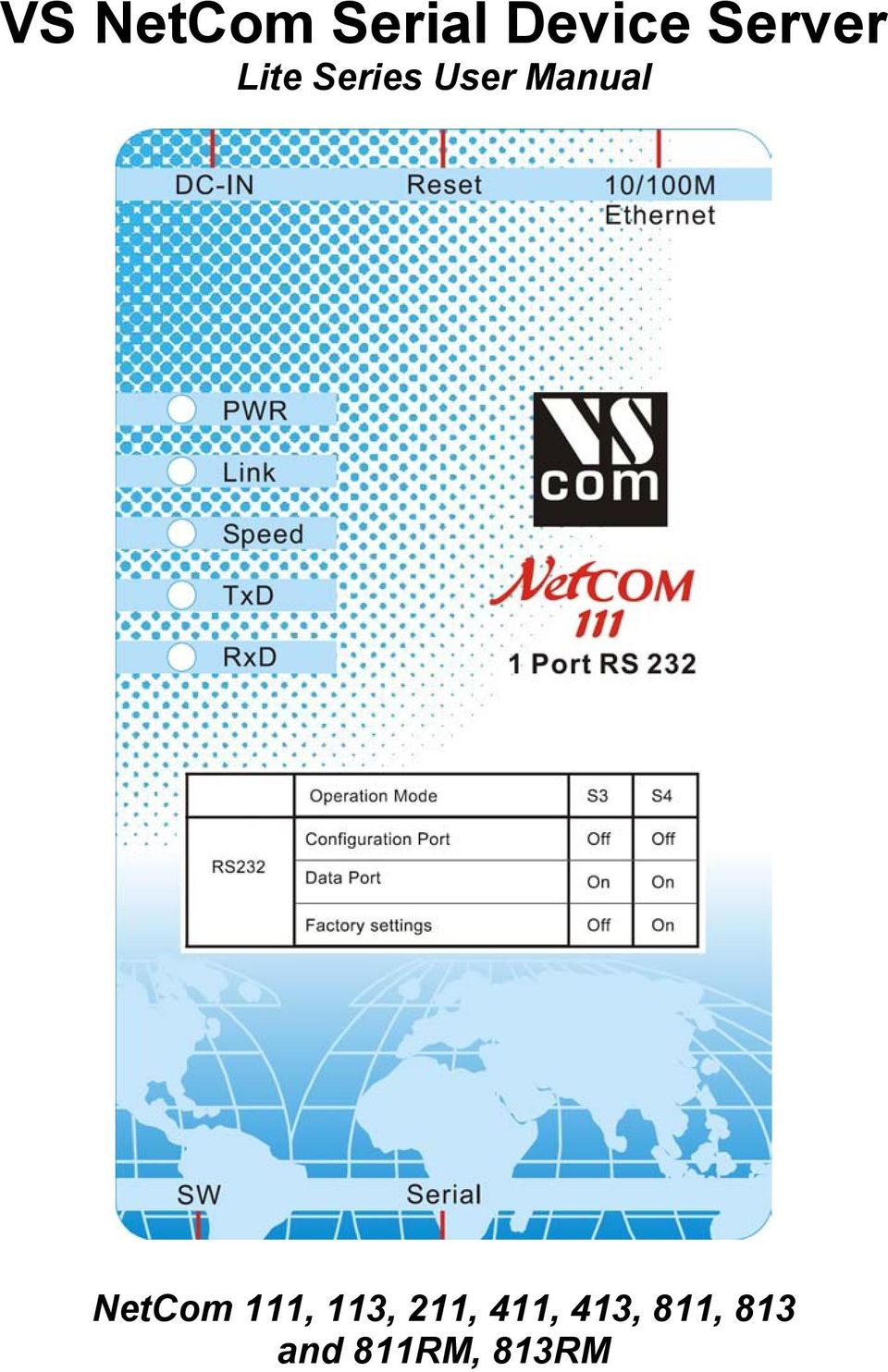 Manual NetCom 111, 113,