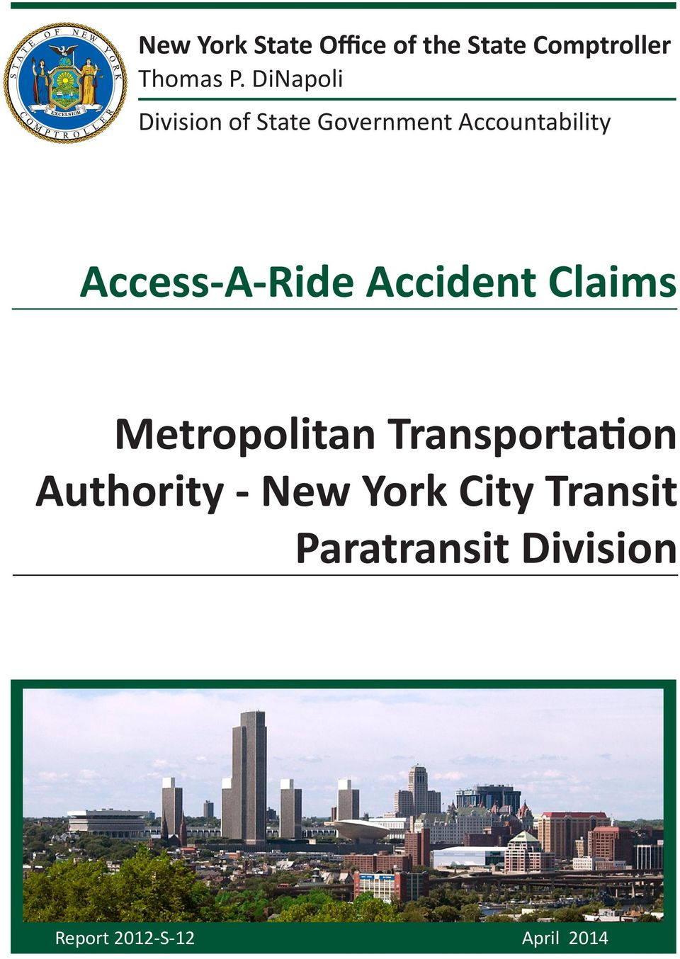 Access-A-Ride Accident Claims Metropolitan Transportation