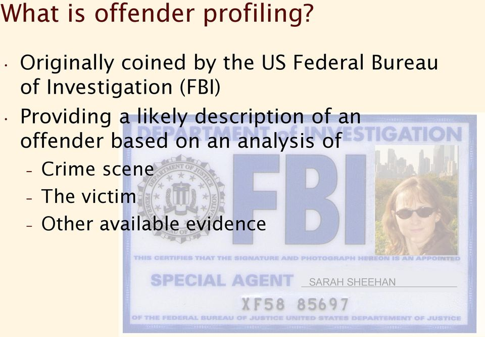 crime scene investigation case study essay Homicide crime scene investigation essay in the case study, it is evident that crime scene investigators adhered to these requirements.