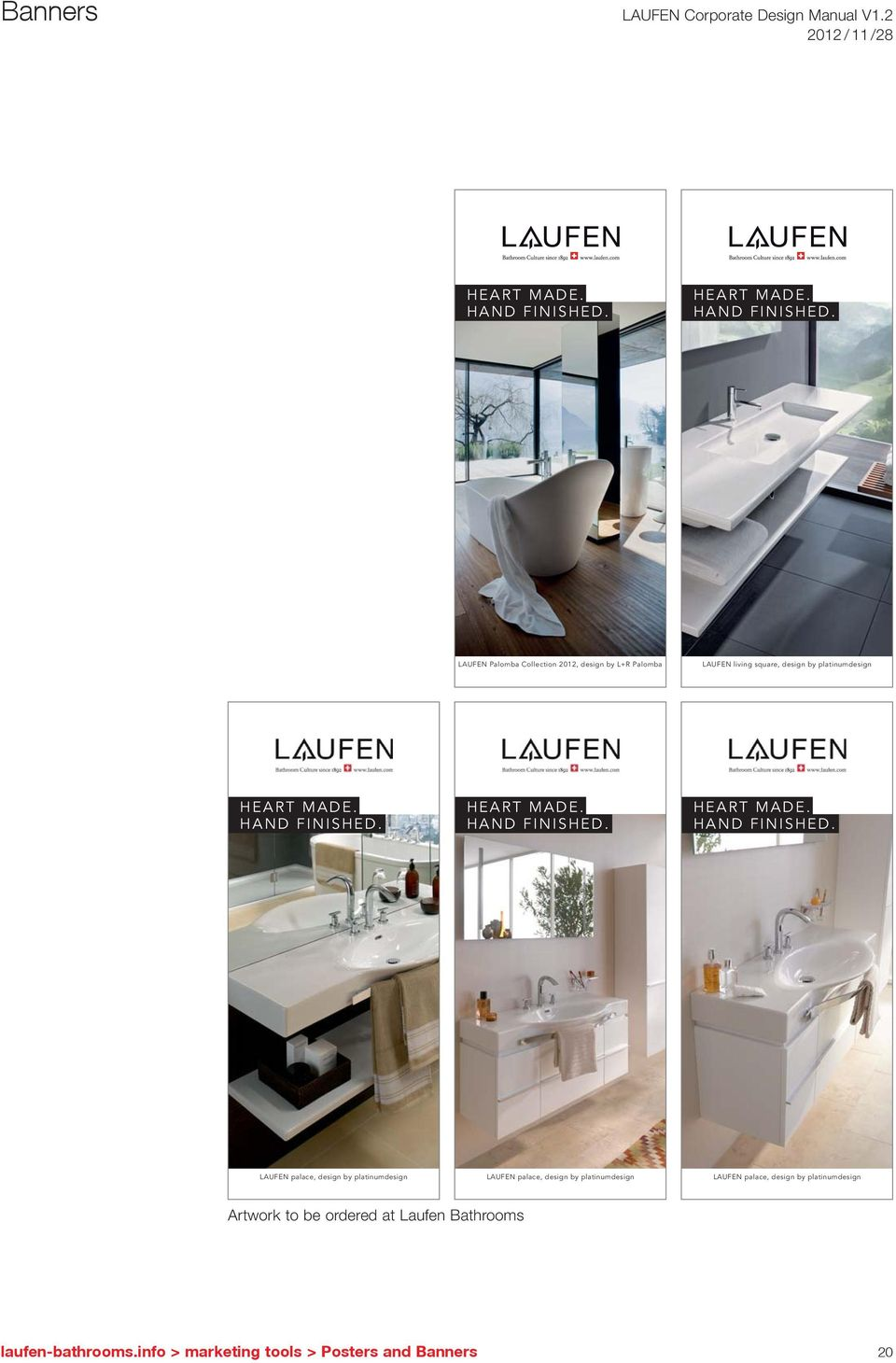 LAUFEN Palomba Collection 2012, design by L+R Palomba LAUFEN living square, design by platinumdesign    LAUFEN
