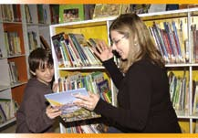 d) meeting related resource requirements; e) exploring the improved integration of library staff with the teaching team in schools; and f) creating libraries that are welcoming and accessible spaces