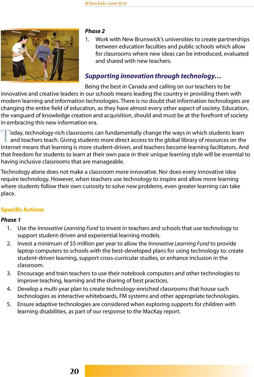 new teachers.