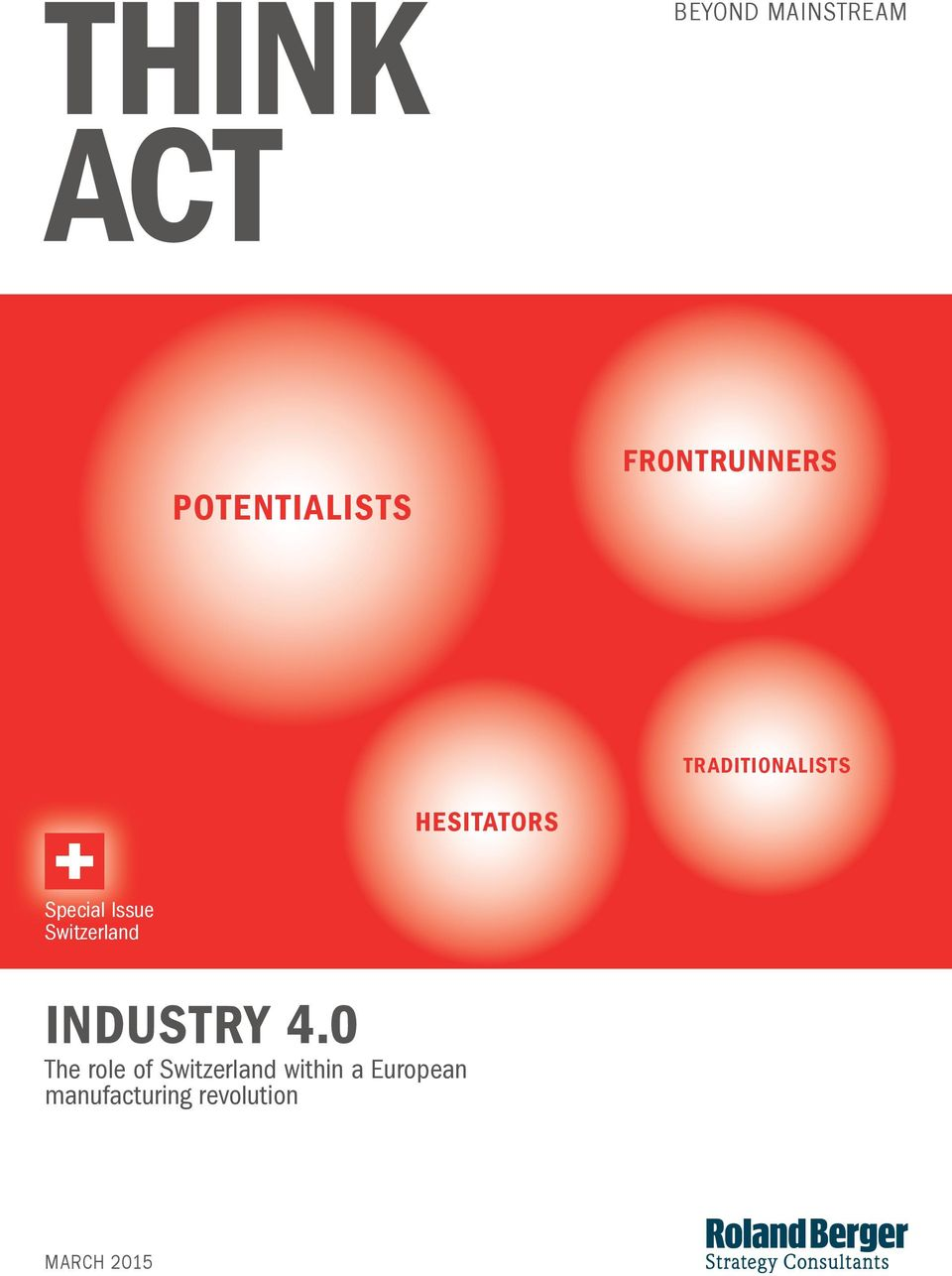 Special Issue Switzerland The role of