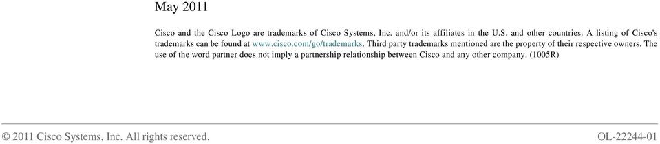 Third party trademarks mentioned are the property of their respective owners.