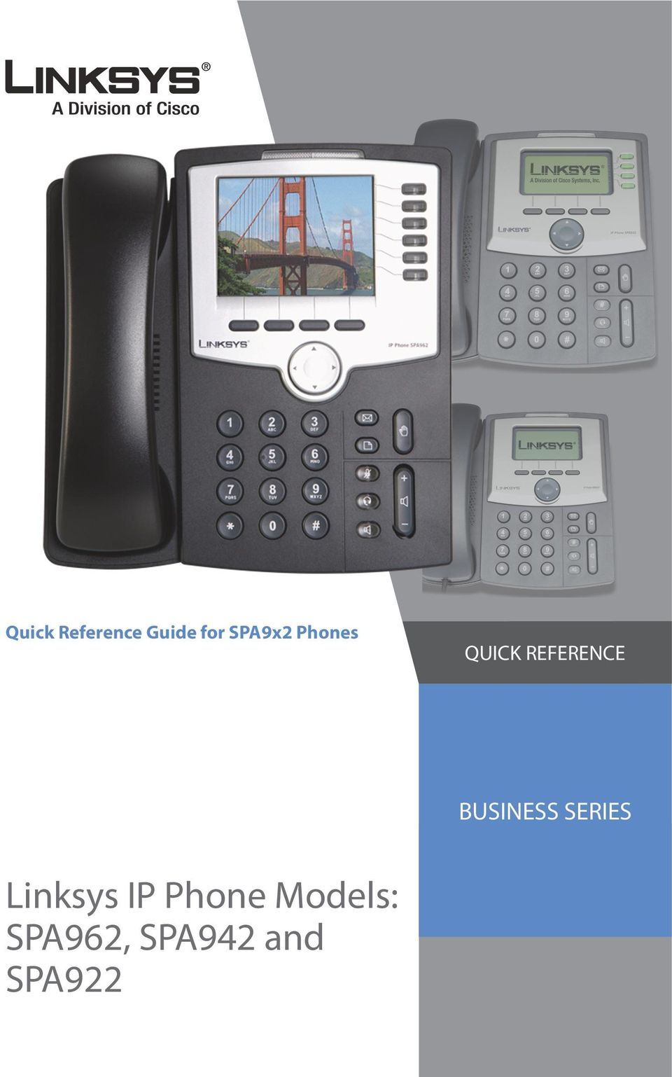 BUSINESS SERIES Linksys IP