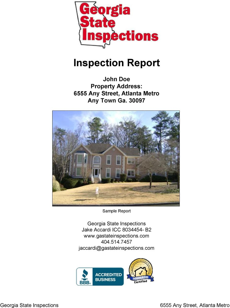 30097 Sample Report Georgia State Inspections Jake