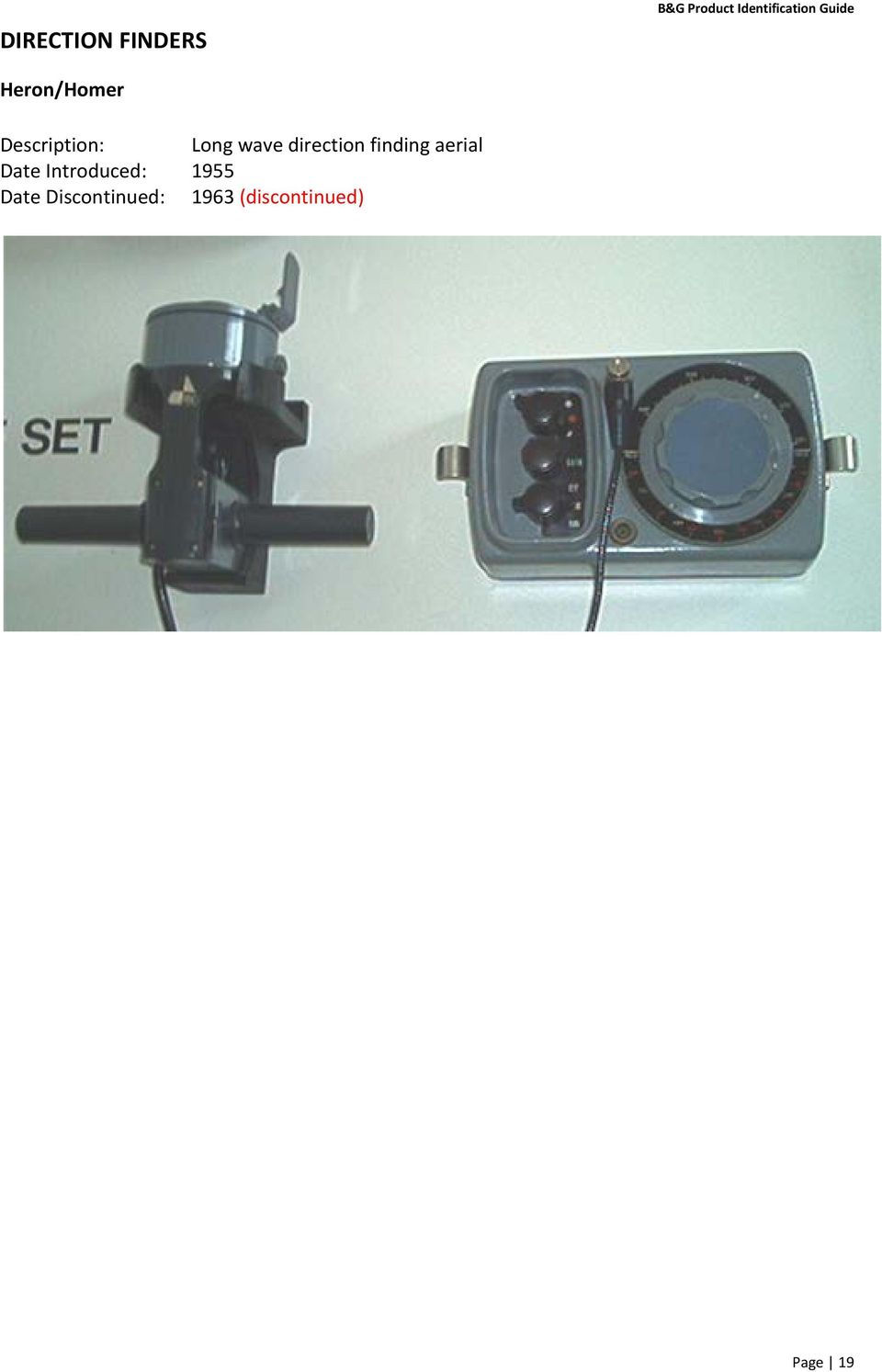 1987 Part Number: (discontinued) Sensor viewed from the base showing