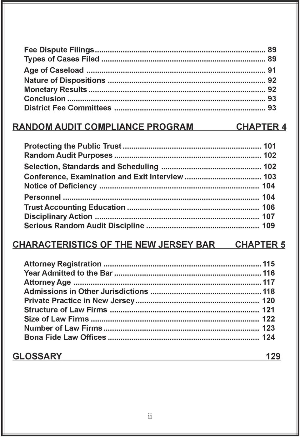.. 103 Notice of Deficiency... 104 Personnel... 104 Trust Accounting Education... 106 Disciplinary Action... 107 Serious Random Audit Discipline.