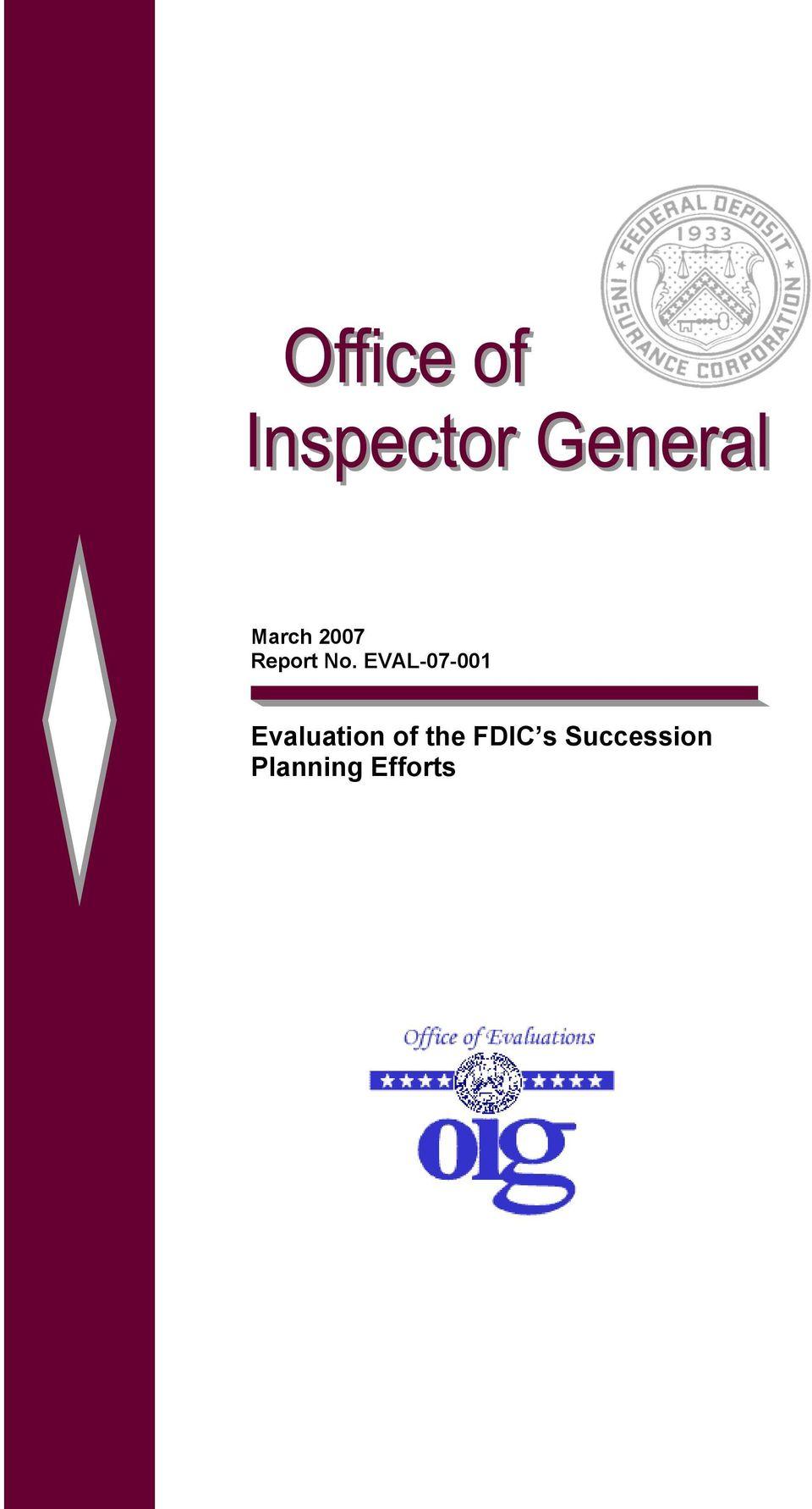 of the FDIC s