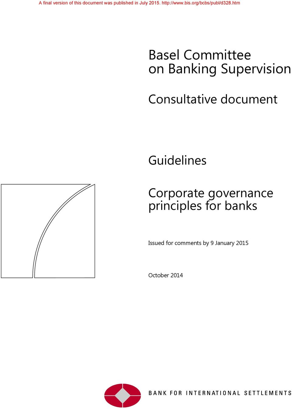 Corporate governance principles for