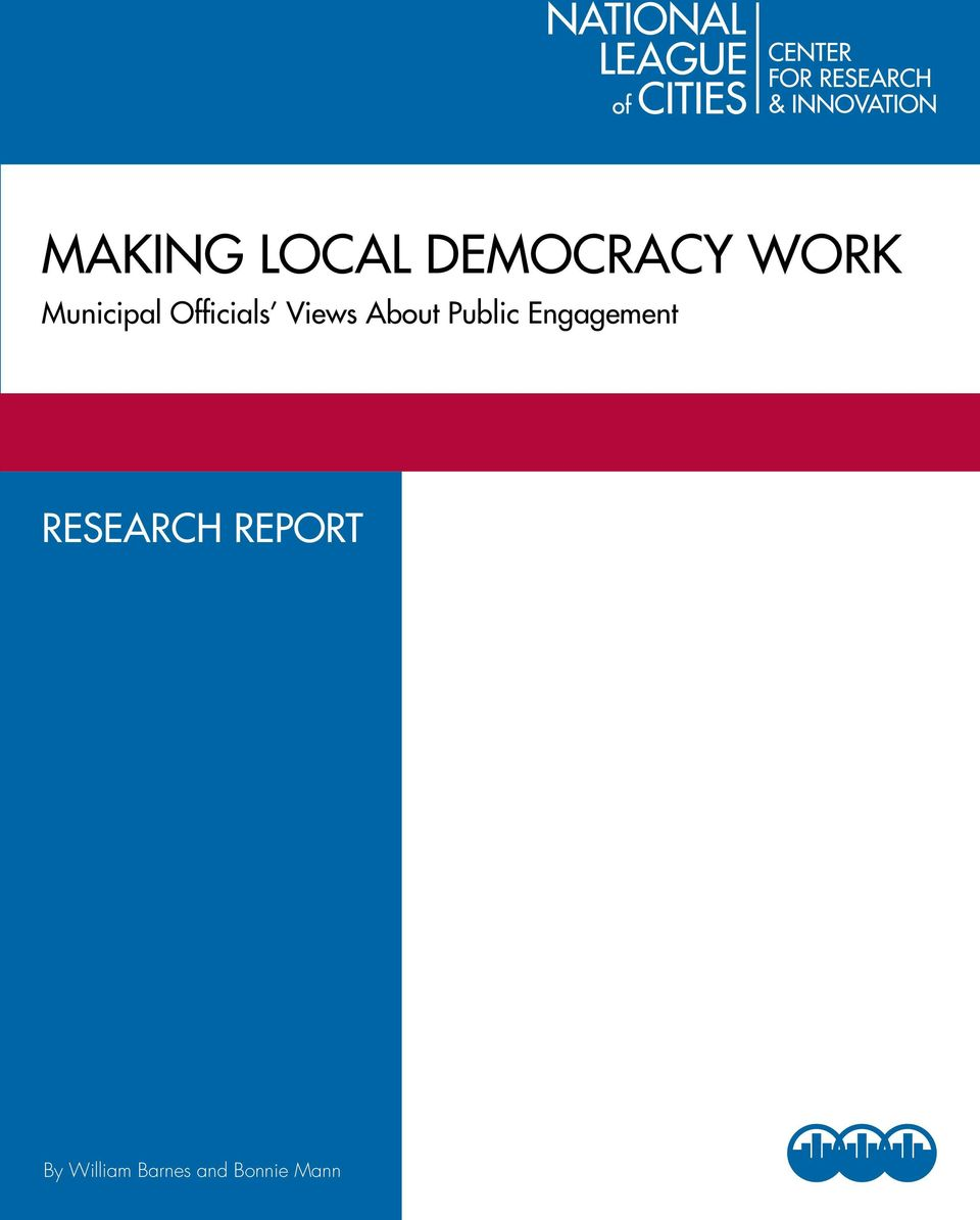 Public Engagement Research