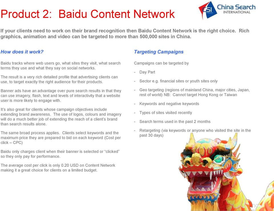 Baidu tracks where web users go, what sites they visit, what search terms they use and what they say on social networks.