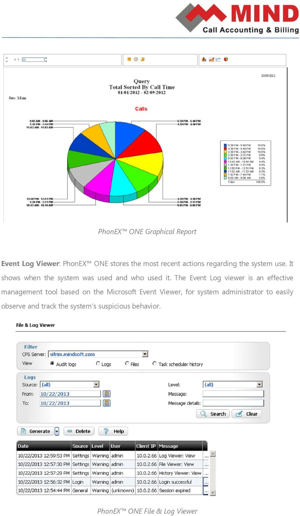The Event Log viewer is an effective management tool based on the Microsoft Event Viewer,
