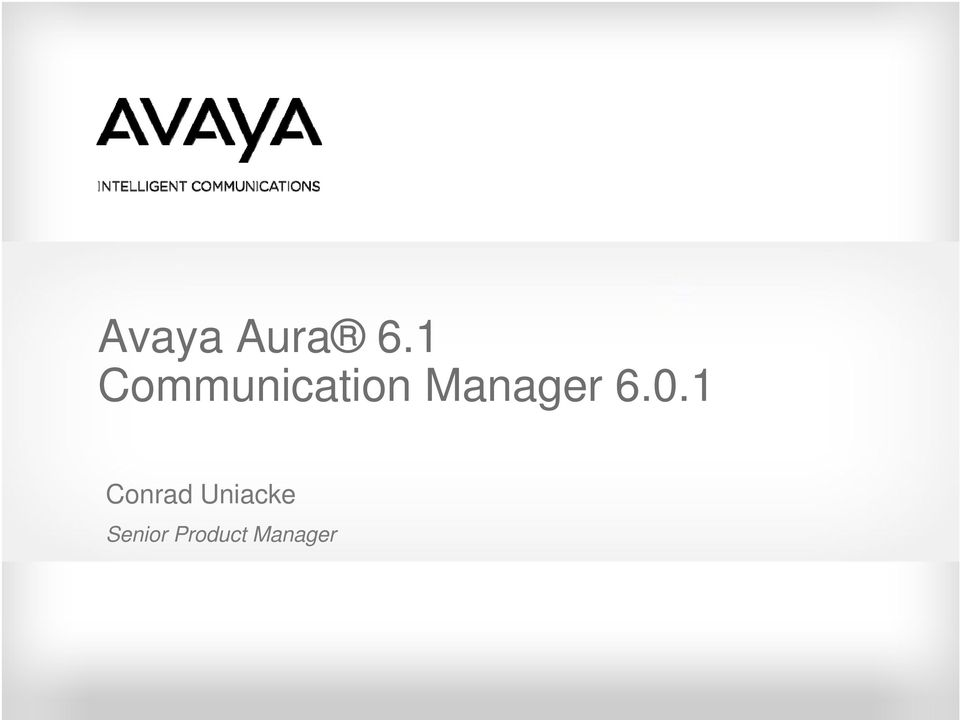 Manager 6.0.