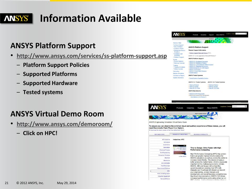 asp Platform Support Policies Supported Platforms Supported